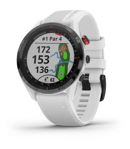 Approach S62 Golf GPS, White, SEA