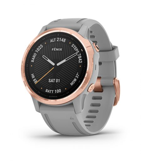Garmin fēnix 6S Rose Gold/Gray Part Number 010-02159-75