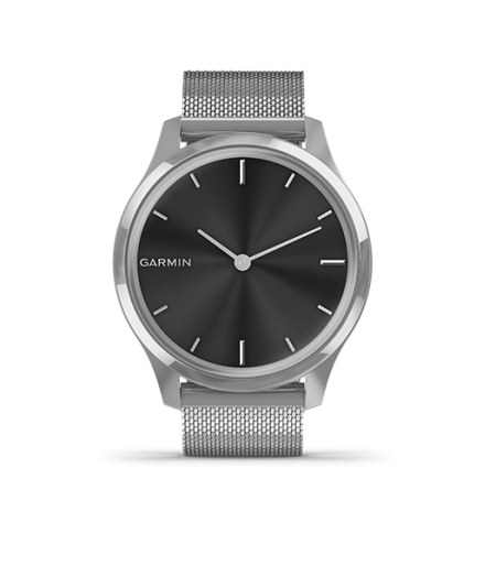 Vivomove Luxe  Silver with Milanese Part Number 010-02241-83