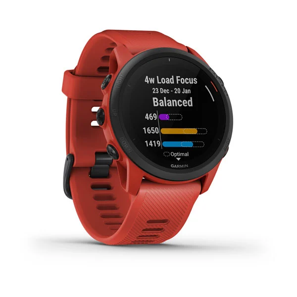 Garmin Forerunner® 745 Magma Red Part Number 010-02445-62