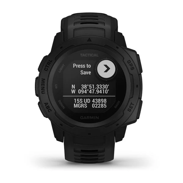 Garmin Instinct® – Tactical Edition(Black) Part Number 010-02064-84