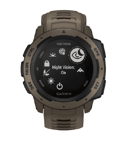 Garmin Instinct® – Tactical Edition (Coyote Tan) Part Number 010-02064-94