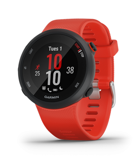 Garmin Forerunner 45 Lava Red Part Number 010-02156-66