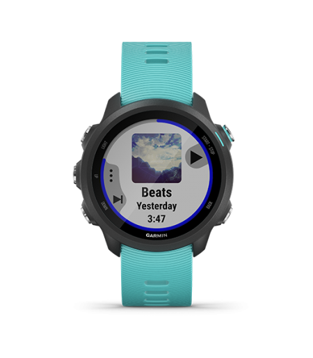 Garmin Forerunner 245 Music Aqua Part Number-010-02120-A2