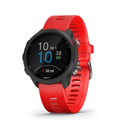 Garmin Forerunner 245 Music Lava Red Part Number 010-02120-A3