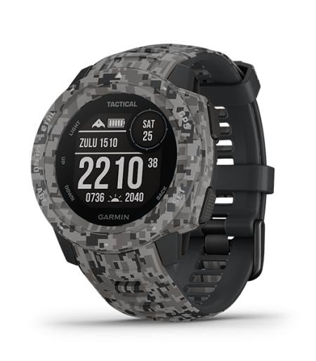 Garmin Instinct® – Tactical Edition ( Rugged, Reliable outdoors GPS watches) Part Number 010-02064-C4