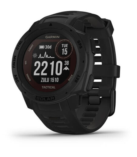 Garmin Instinct® Solar – Tactical Edition Black  Part Number-010-02293-45