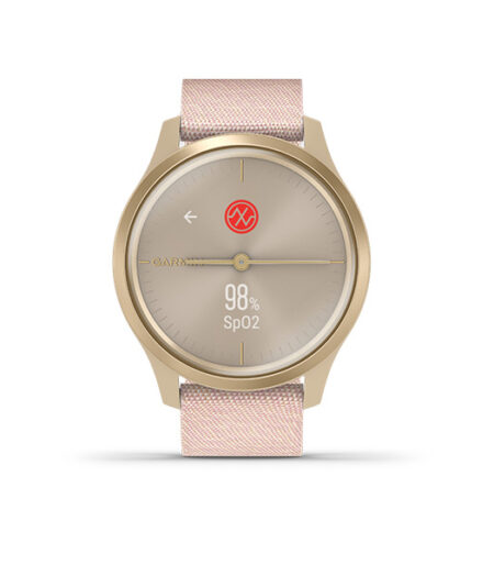 Garmin vívomove Style Light Gold-Blush Pink, Nylon Part Number 010-02240-82