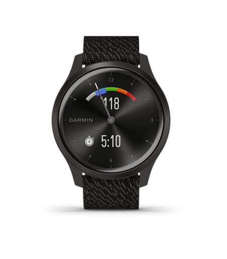 Garmin vívomove Style Graphite-Black Pepper, Nylon Part Number 010-02240-83