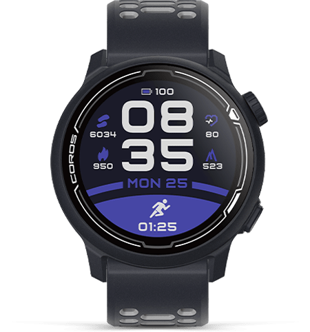 COROS PACE 2 Premium GPS Sport Watch WPAC2-NVY Dark Navy w/ Silicone
