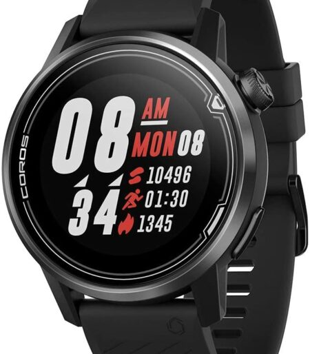 COROS APEX 42mm Black WAPXS-BLK-2 Premium Multisport GPS Watch