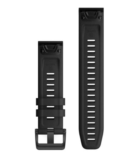 Garmin Watch Band Quickfit 26mm Watch Band - Black Silicone Part number 010-12517-10