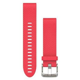 GARMIN Watch Band QuickFit band 20mm Red  Part Number- 010-12491-22