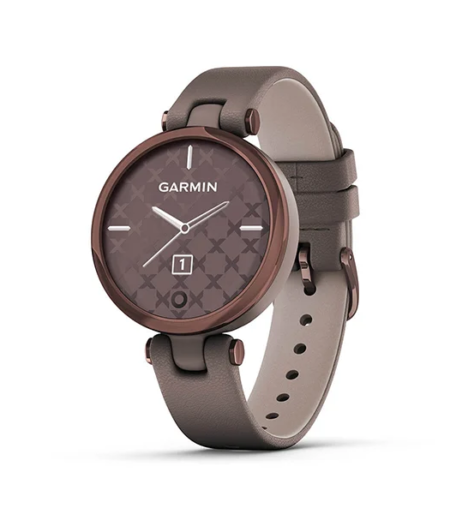 Garmin Lily DarkBronze, Paloma, Leather Part Number- 010-02384-F0