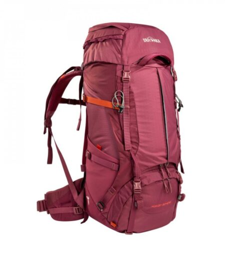 Tatonka Brand Yukon 50 Plus 10 Woman Bordeaux Red
