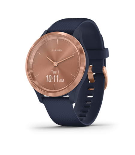 Garmin Vivomove3S Navy With Rose Gold Part Number- 010-02238-83